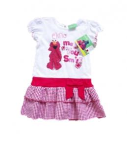Poletna oblekica za punčke Elmo