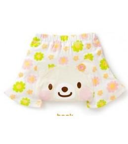 Kratke hlačke Cvetni medvedek