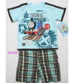 Komplet kratke hlače in majica lokomotivček Tomaž