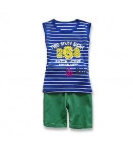 Komplet kratke hlače in majica za fantke