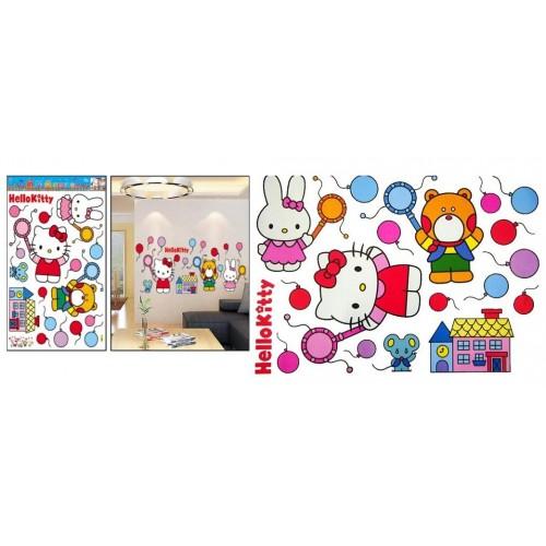 Nalepka za steno Hello Kitty 50 x 70 cm